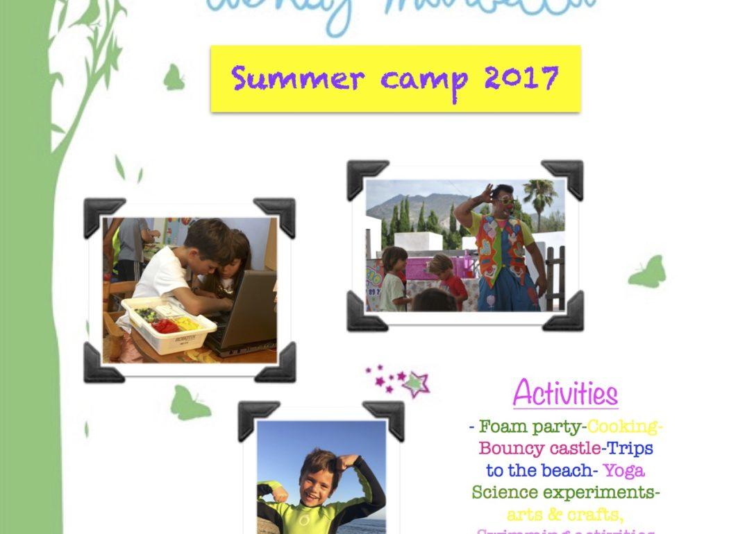 Summer camp Wendy Marbella